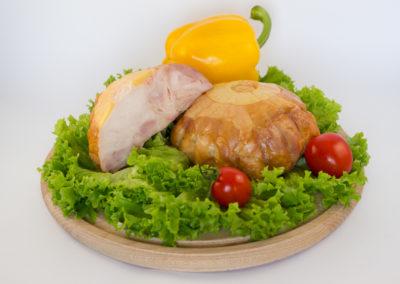 Рулет курячий з ананасовою начинкою